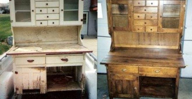 Реставрировать мебель  видео